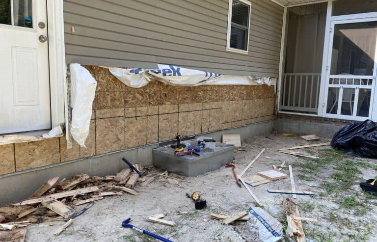 House Wall Restoration